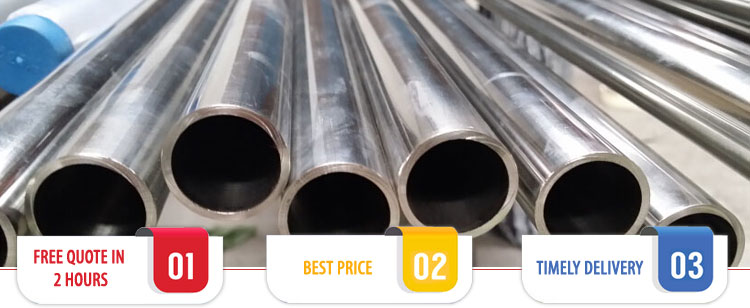 ASTM B338 Grade 5 Titanium Pipes / Tubes Suppliers India