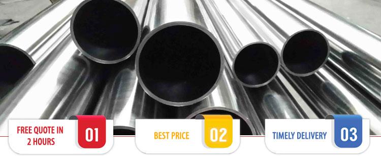 ASTM B338 Grade 7 Titanium Pipes / Tubes Suppliers India